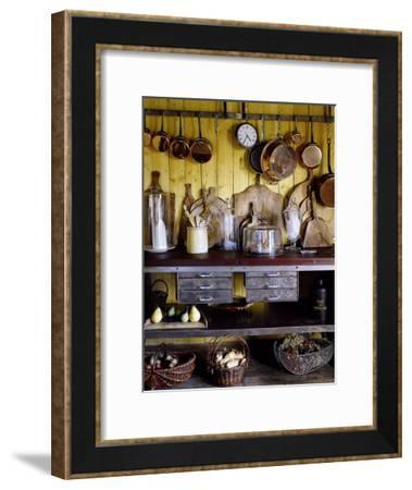 Old Style Kitchen-Guillaume De Laubier-Framed Art Print
