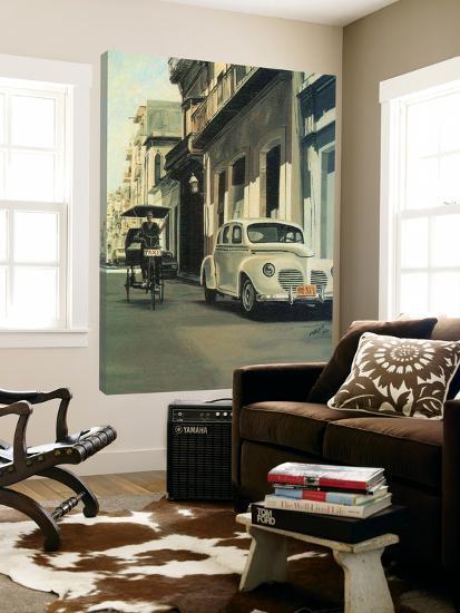 Old Taxi-Pedro De Armas Martin-Loft Art