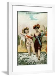 Old Time Bathing Beauties, Coronado, California