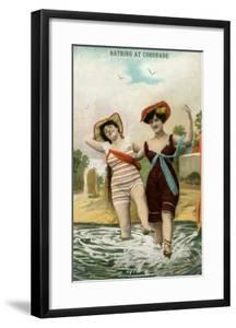 Old Time Bathing Beauties, Coronado, California