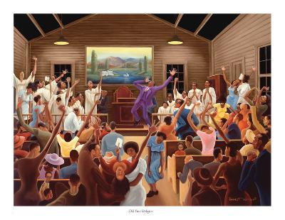 Old Time Religion-Ernest Watson-Art Print