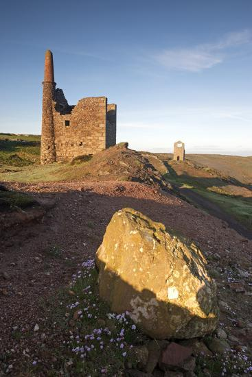 Old Tin Mine Workings, Botallack, Pendeen,Cornwall, England-Paul Harris-Photographic Print