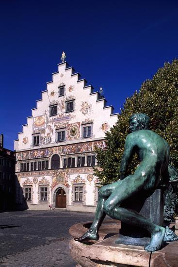 Old Town Hall in Lindau, Bavaria, Germany--Giclee Print