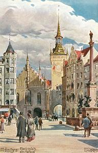 Old Town Hall, Marienplatz, Munich, Germany