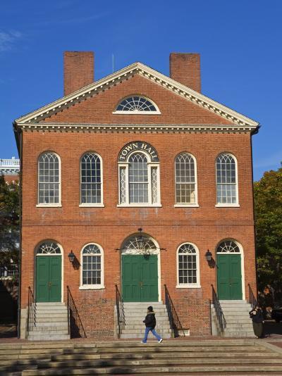 Old Town Hall, Salem, Greater Boston Area, Massachusetts, New England, USA-Richard Cummins-Photographic Print