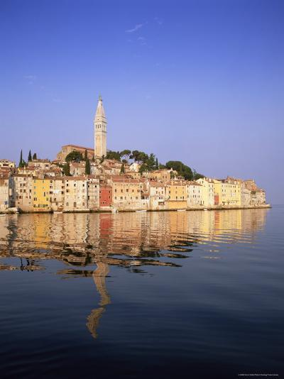 Old Town Houses and Cathedral of St. Euphemia, Rovinj, Istria, Croatia, Europe-Gavin Hellier-Photographic Print
