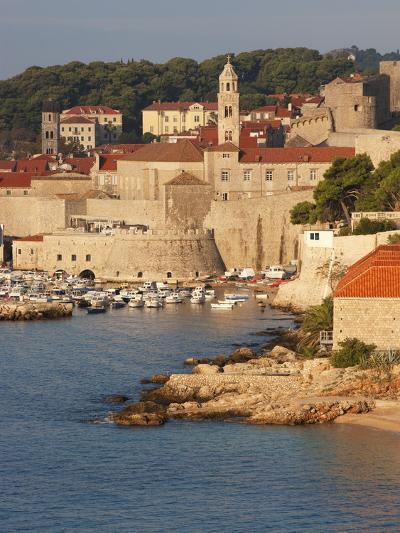 Old Town in Early Morning Light, UNESCO World Heritage Site, Dubrovnik, Croatia, Europe-Martin Child-Photographic Print