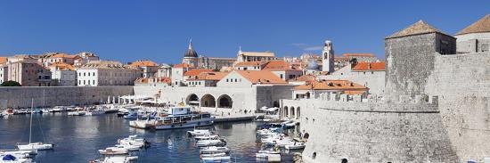 Old Town of Dubrovnik, UNESCO World Heritage Site, Dalmatia, Croatia, Europe-Markus Lange-Photographic Print