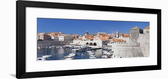 Old Town of Dubrovnik, UNESCO World Heritage Site, Dalmatia, Croatia, Europe-Markus Lange-Framed Photographic Print