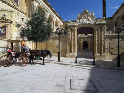Old Town of Mdina, Malta, Mediterranean, Europe-Hans Peter Merten-Photographic Print