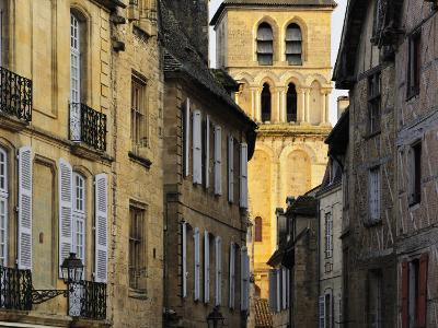 Old Town of Sarlat-La-Caneda, Aquitaine, France, Europe-Jochen Schlenker-Photographic Print