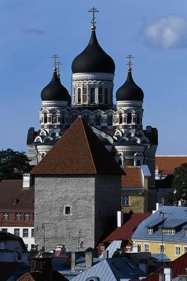 Old Town of Tallinn--Giclee Print
