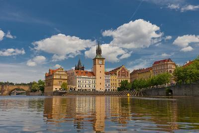 Old Town Water-Tower (1577) in Prague. UNESCO Site- joymsk-Photographic Print