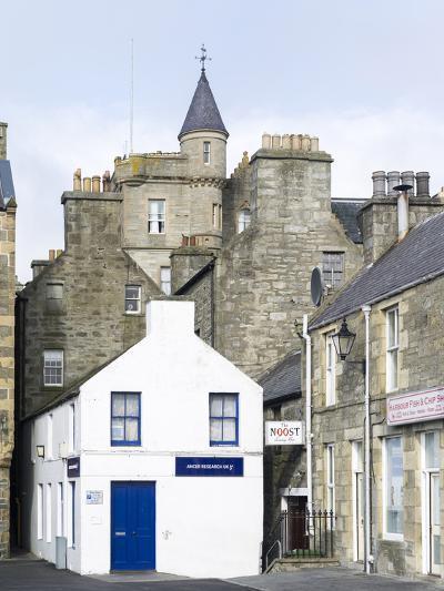 Old town waterfront, Lerwick, Scotland, Northern Isles, Shetland.-Martin Zwick-Photographic Print
