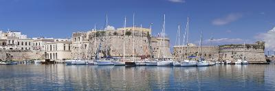 Old Town with Castle and Harbour, Gallipoli, Lecce Province, Salentine Peninsula, Puglia-Markus Lange-Photographic Print