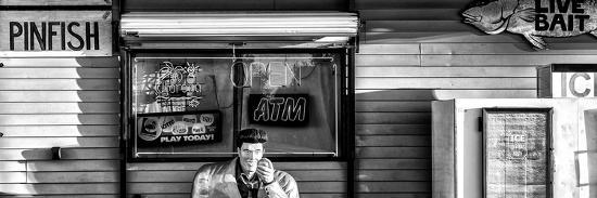 Old Traditional American Bar Restaurant-Philippe Hugonnard-Photographic Print