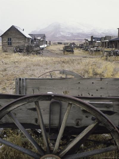 Old Trail Town, Cody, Wyoming, USA--Photographic Print