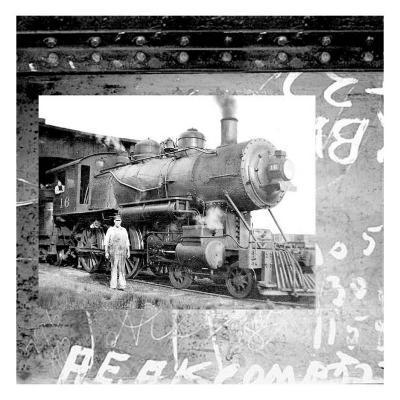 Old Train I--Art Print