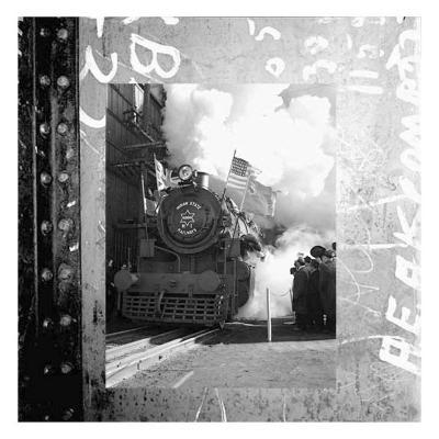Old Train II--Art Print