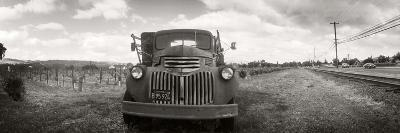 Old Truck in a Field, Napa Valley, California, USA--Photographic Print
