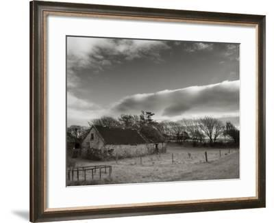 Old Unused Farm Near Ballyvooney, the Copper Coast, County Waterford, Ireland--Framed Photographic Print
