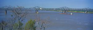Old Vicksburg Bridge Crossing Ms River in Vicksburg, Ms to Louisiana