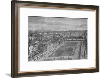 Old view of St James's Palace, Westminster, London, before the Great Fire of London, c1870 (1878)-Joseph Swain-Framed Giclee Print
