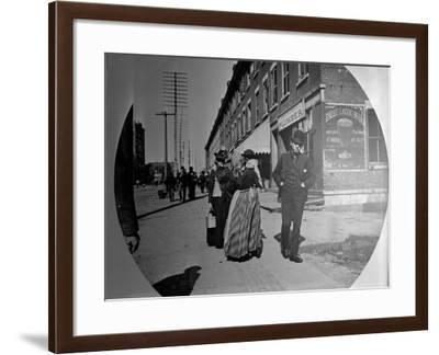 Old Views of Rochester, New York--Framed Photographic Print