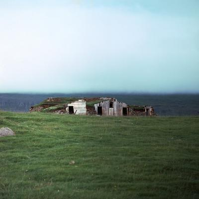Old Viking-Style Icelandic Turf Farm-CM Dixon-Photographic Print
