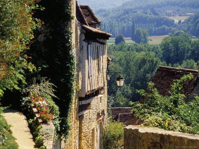 Old Village of Limeuil, Dordogne Valley, Aquitaine, France-David Hughes-Photographic Print