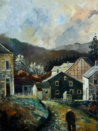 Old Village Redu Ardennes Belgium-Pol Ledent-Art Print