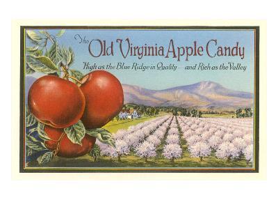 Old Virginia Apple Candy--Art Print