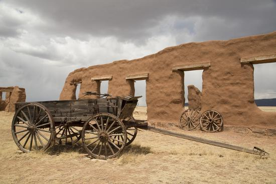 Old Wagons, Fort Union National Monument, New Mexico, United States of America, North America-Richard Maschmeyer-Photographic Print