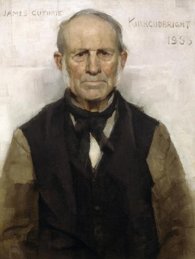 Old Willie - the Village Worthy, 1886-Sir James Guthrie-Giclee Print