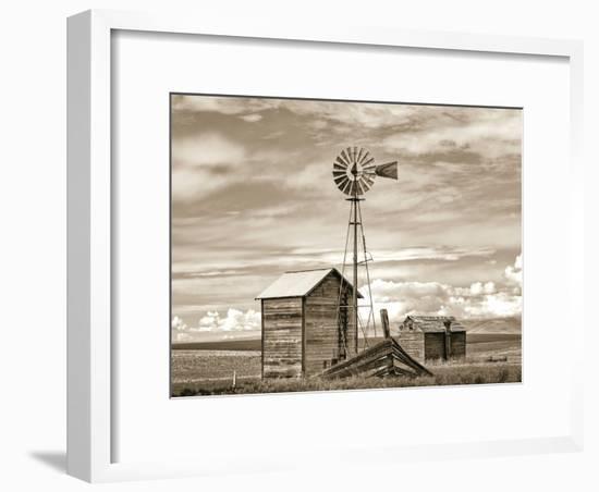 Old Windmill-Steve Bisig-Framed Premium Photographic Print
