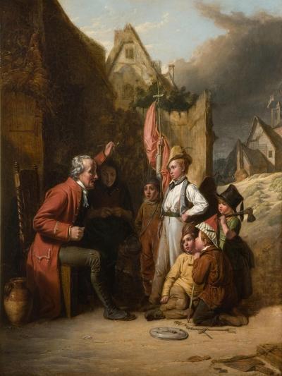 Old Wooden Leg, 1830-Robert Farrier-Giclee Print