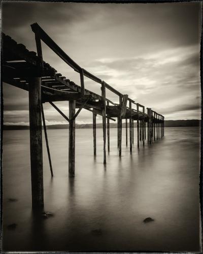 Old Wooden Pier-Mark Scheffer-Photo