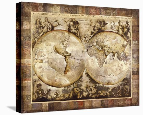 Old World I-John Douglas-Stretched Canvas Print
