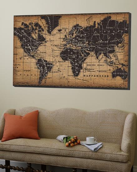 Old World Map Loft Art By Pela Design Art Com