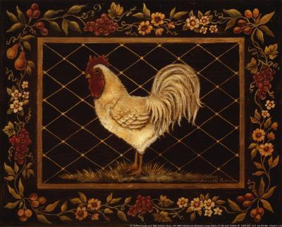 Old World Rooster-Kimberly Poloson-Art Print