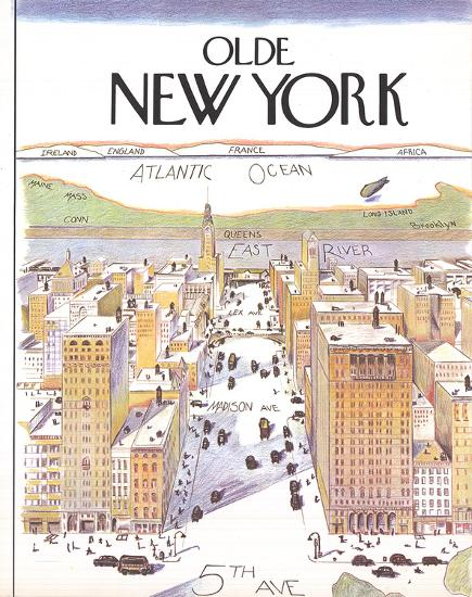 Olde New York (Small)-Unknown-Art Print