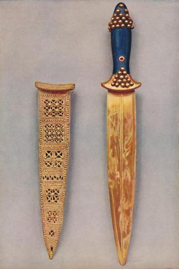 'Oldest Known Examples of the Goldsmith's Art: Masterpieces of Sumerian Culture', c1935-Unknown-Giclee Print