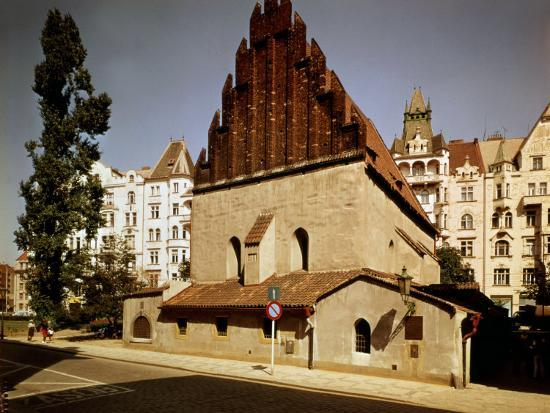Oldest Synagogue in Europe, built 1270, Prague, Czech Republic--Photographic Print