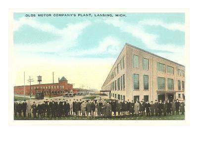 Olds Motor Company, Lansing, Michigan--Art Print
