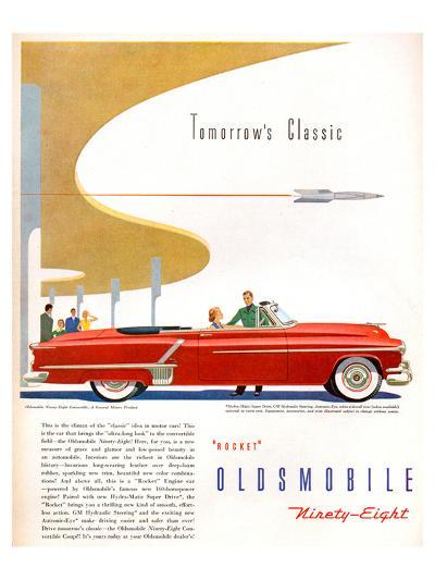Oldsmobile-Tomorrow's Classic--Art Print