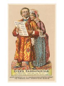 Oldsters Touting Sarsaparilla