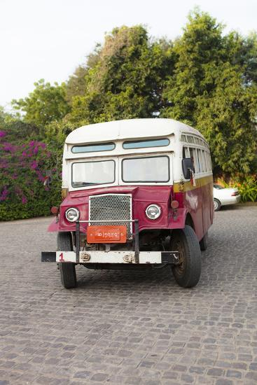 Oldtimer at Bagan Picking Up Tourists for Balloon Flight over Ancient Temples of Bagan-Harry Marx-Photographic Print