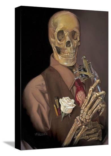 Ole Timey-Anthony Velasquez-Stretched Canvas Print