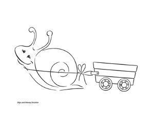 Garden Snail by Olga And Alexey Drozdov