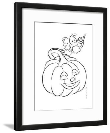 Pumpkin and Ghosts